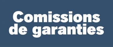 Comissions de Garanties