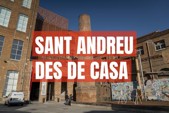 Sant Andreu des de casa