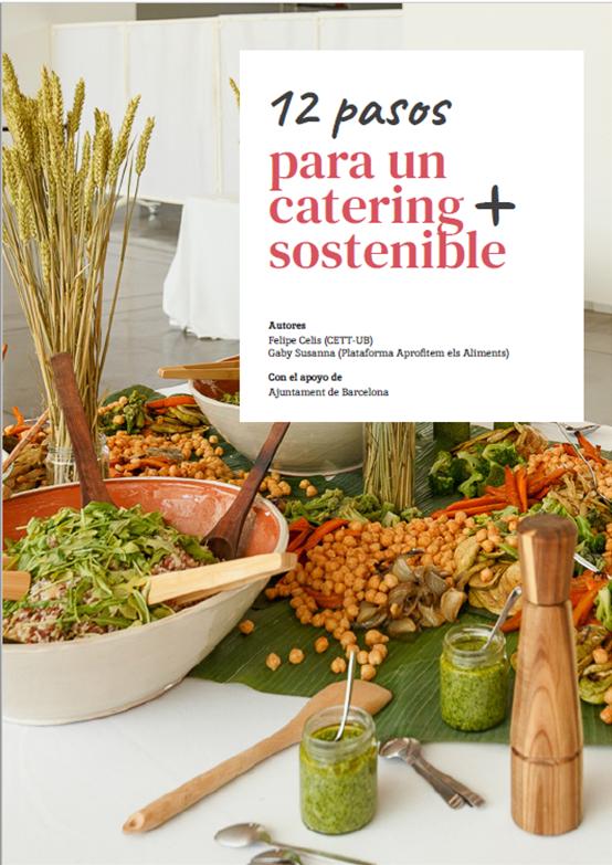 """Guia """" 12 pasos para un catering + sostenible"""""""