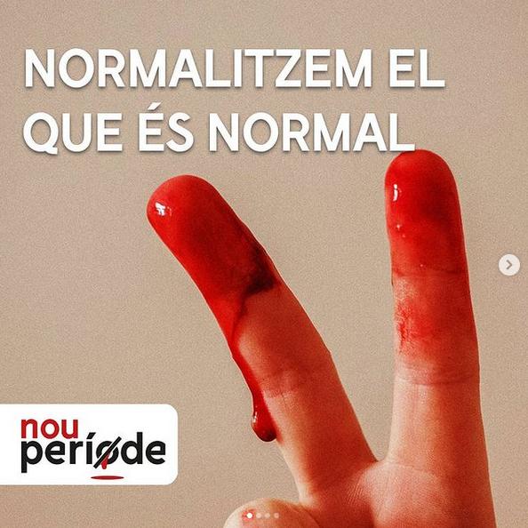 Nou Període cap a una menstruació Residu Zero
