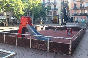 Remodelem el parc infantil de la plaça de la Revolució