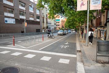 Obrim un carril bici al passeig de Fabra i Puig