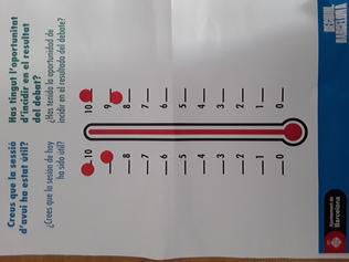 Termometre de la trobada