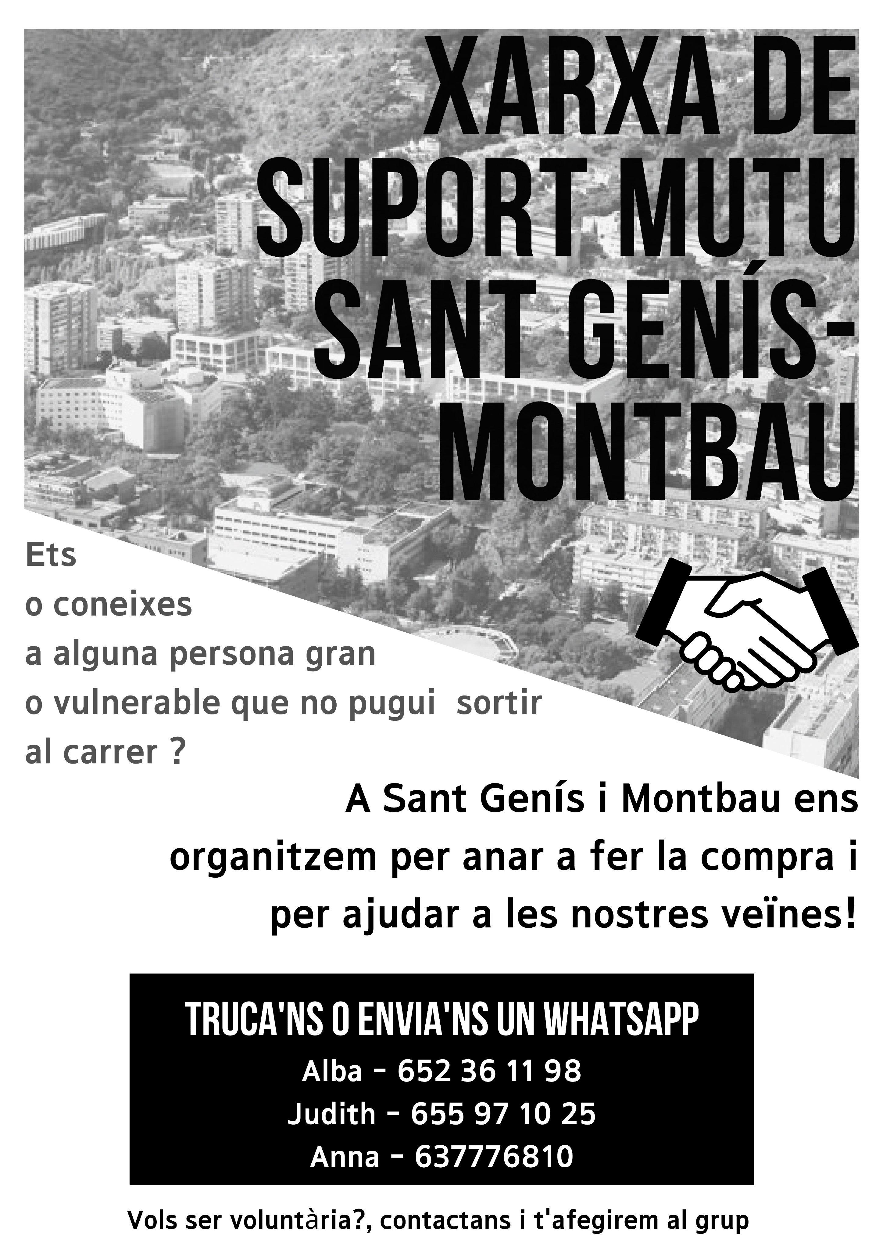 Xarxa de suport mutu de Sant Genís i Montbau