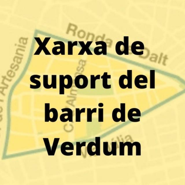 Xarxa de suport de Verdum