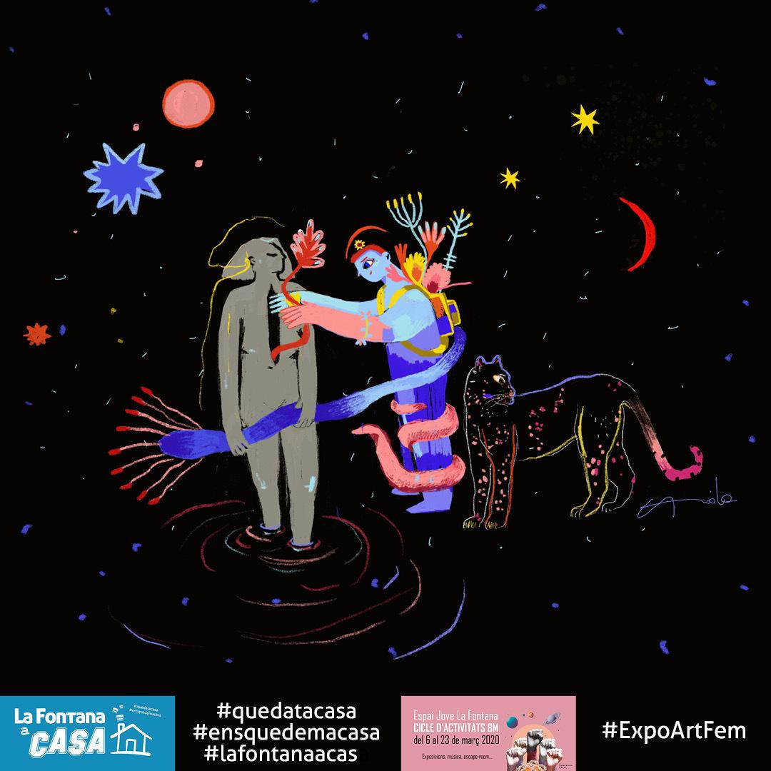 #ExpoArtFem Exposició col·lectiva: Art i feminisme