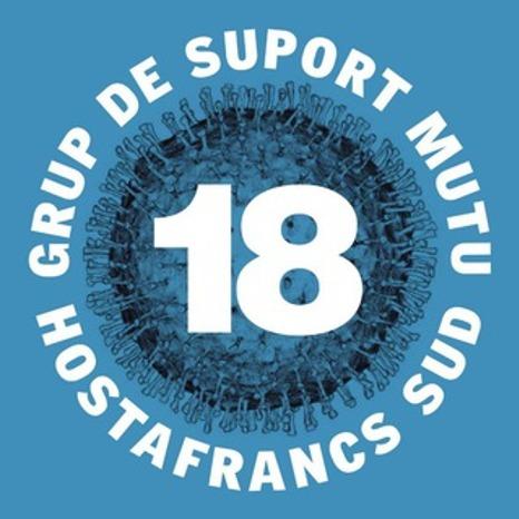 Grup de suport d'Hostafrancs Sud (entre Moianès, Gran Via i Creu Coberta).
