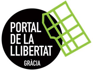 Logo del Portal de la Llibertat