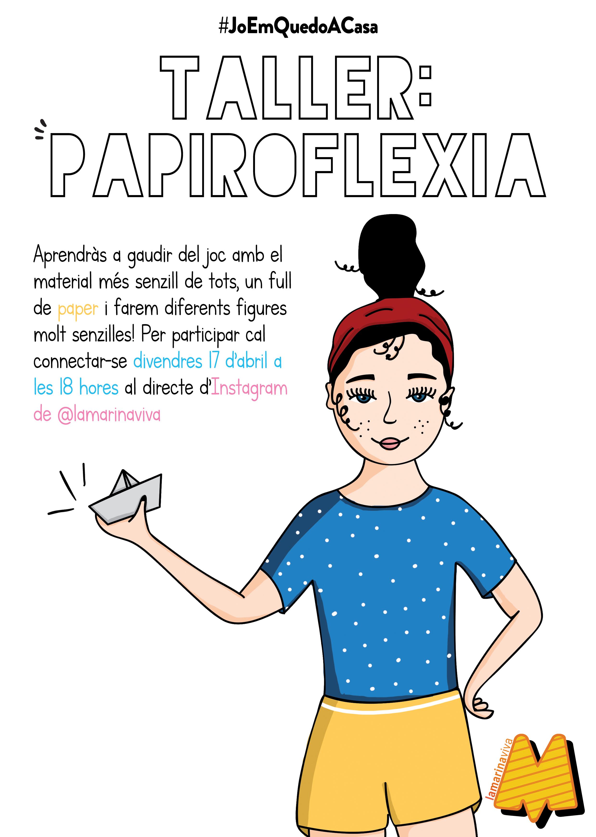 Taller: papiroflexia