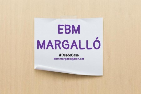 EBM Margalló, #desdecasa. Propostes per fer amb els infants