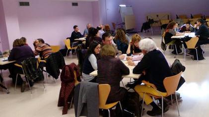 Sessió de treball del PAM amb tècnics i tècniques municipals. Sanitat i Salut