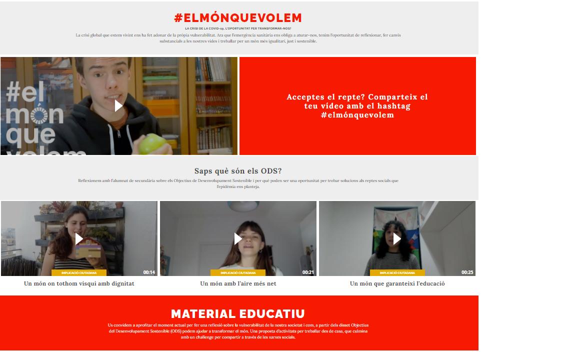 #elmónquevolem - EducaSJD