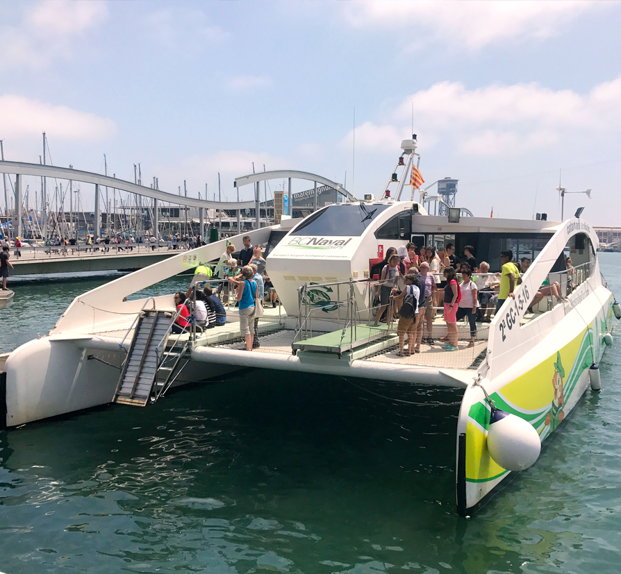Excursions marítimes respectant el medi ambient